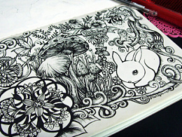 我的线描涂鸦本(2-6)