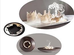 《筑韵.智能净化器加湿器组合系列》战俊 中国美术学院上海设计学院#青春答卷2015#