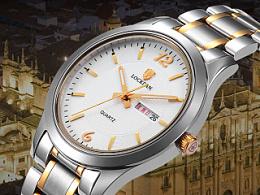 天猫淘宝高端手表详情页设计PSD