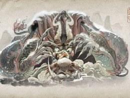 【画·龙生九子】新书《只能翻开九次的书》角色设定【一】睚眦、囚牛、蒲牢、螭吻