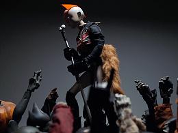 Punk Doge 玩具摄影