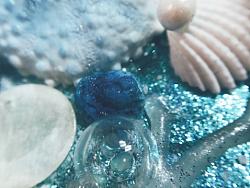 海洋主题婚礼蛋糕细节