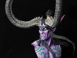 作为一个喜欢魔兽世界的粉丝,我用行动力来表达,先从伊利丹开始