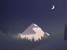 夜色场景练习一波