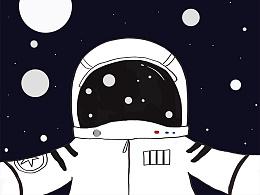 剩下的就在太空中畅游起来吧。