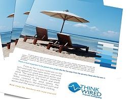 DM单页宣传单旅行社传单