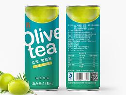 意形社-橄榄茶包装