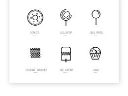 童年主题线性icon