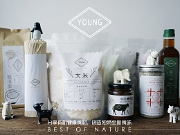 YOUNG FOOD 有机食品包装设计