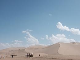 采风中的沙漠