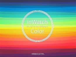 inWatch Color 产品详情页设计