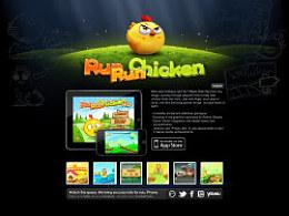 iPhone游戏RunRunChicken产品页