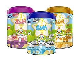 星飞帆产品包装设计之奶粉工厂