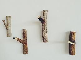 自制木质挂钩