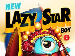 LAZY STAR BOY--2