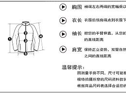 服装文案  洗涤标准