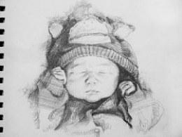 可爱的BABY(手绘)
