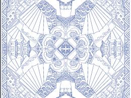海上丝绸之路 文创丝巾设计