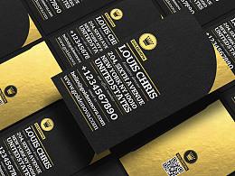 Golden Nova 2 business card