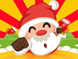 圣诞老人大作战 H5