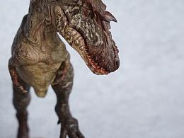 女妖龙恐鳄场景涂装