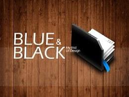 【Blue&Black】