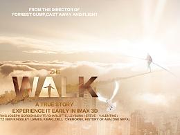 《云中行走》产品海报设计