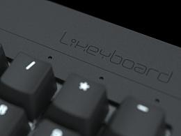 Likeyboard 机械键盘产品效果图