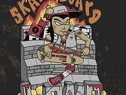 -岂止- zhbit lomo skateboard poster滑板社宣传海报
