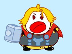 彼格梨qq表情2 阿梨复仇者联盟图片