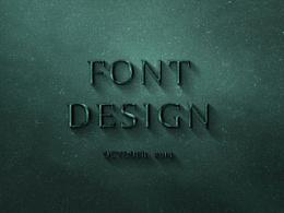 字體回憶擼 Font design