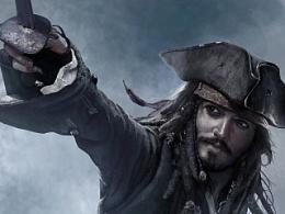 加勒比海盗 素描练习