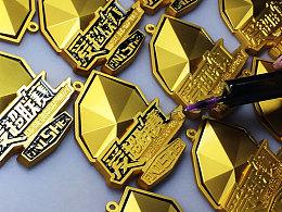 爱球迷「爱超联赛」完赛奖牌设计