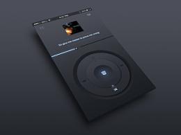 临摹作品-UI界面-播放器