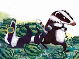如果一只獾遇到另一只獾