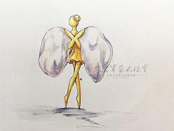 代波军艺术珠宝定制----异形珍珠跳芭蕾舞的女孩