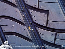 普利司通·轮胎广告及汽车杂志软文排版两枚