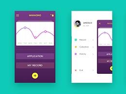 金融类app尝试 视觉+动效