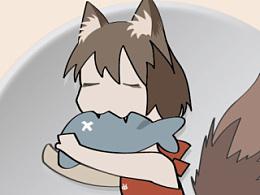 松猫爱吃鱼