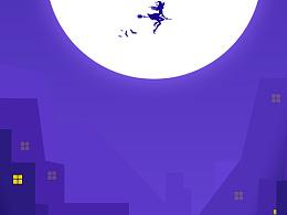 鬼节魔女-日常插画临摹练习