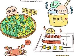 台湾亲子游,手绘全记录