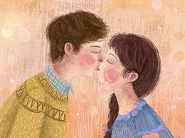 江苏卫视《我们相爱吧》宣传片插画