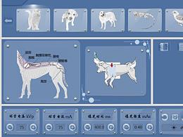 兽用pacs 系统界面设计
