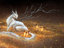 【中国百鬼】狐骑·乘黄