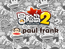 paul frank×maple story2联名系列潮T