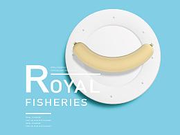 奥格光年作品分享:东极海高钙鱼肉肠品牌包装体系设计