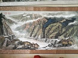 中国山水国画