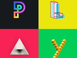 PLAY 创意字体