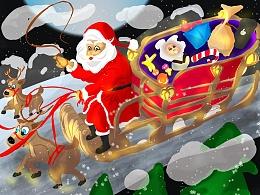 圣诞老人老司机