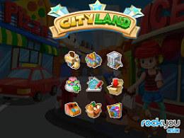 手机游戏CityLand可爱图标设计